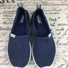 ใหม่ !! รองเท้า Adidas Neo Slip On แบบใหม่ รุ่น ผ้าลูกไม้ มี 2 สี