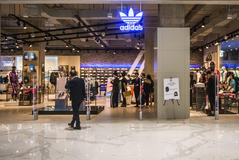 พิกัดแผนที่ Adidas Thai Icon Siam