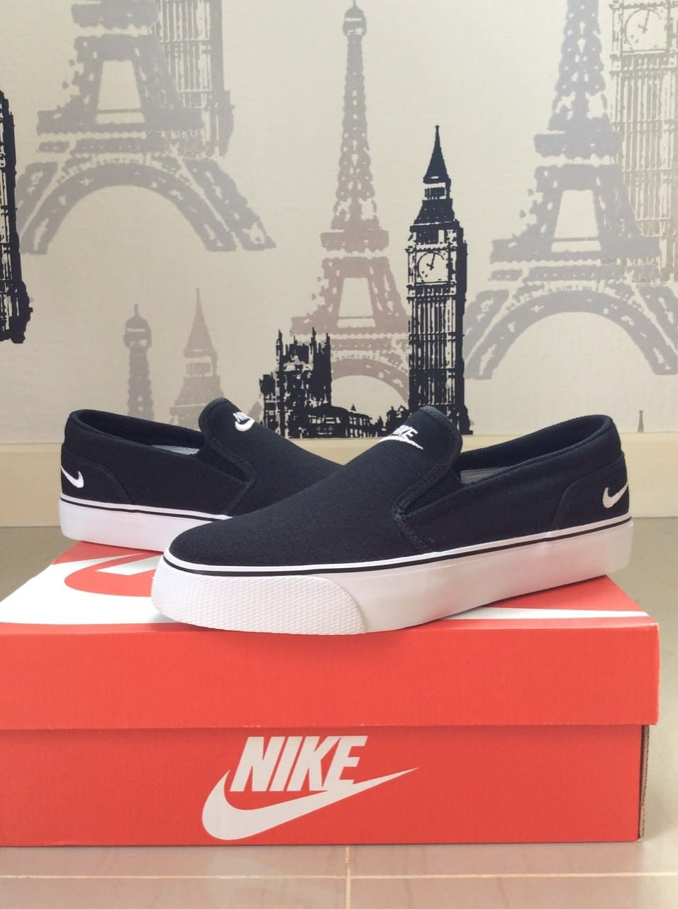 รองเท้า Nike Toki Slip On ซื้อที่ไหนดี ? รีวิว ! ของแท้ ราคาถูก