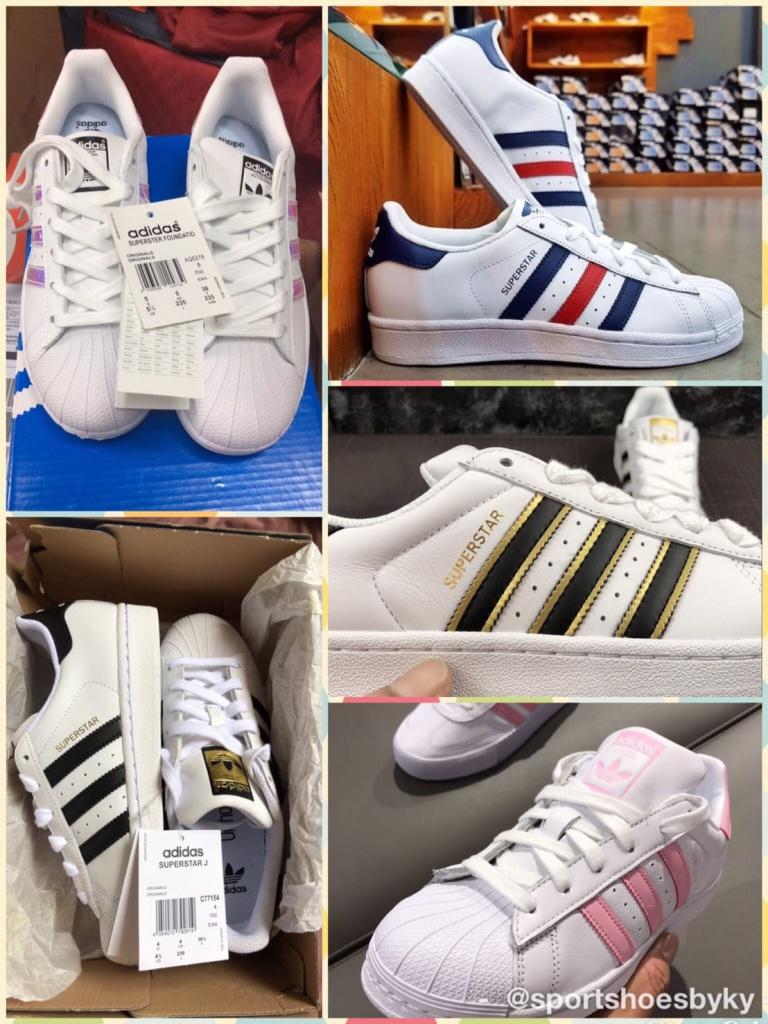 รองเท้า Adidas Superstar ของแท้ดูยังไง มีสีอะไรบ้าง