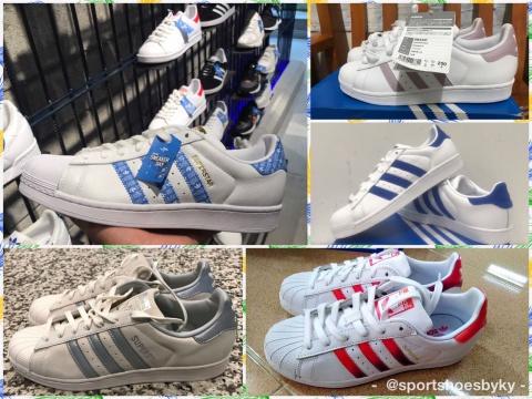 รองเท้าอดิดาสผ้าใบ Superstar ผู้ชาย ผู้หญิง มีกี่รุ่น ป้ายทองแบบใหม่ กี่สีกันแน่ !!