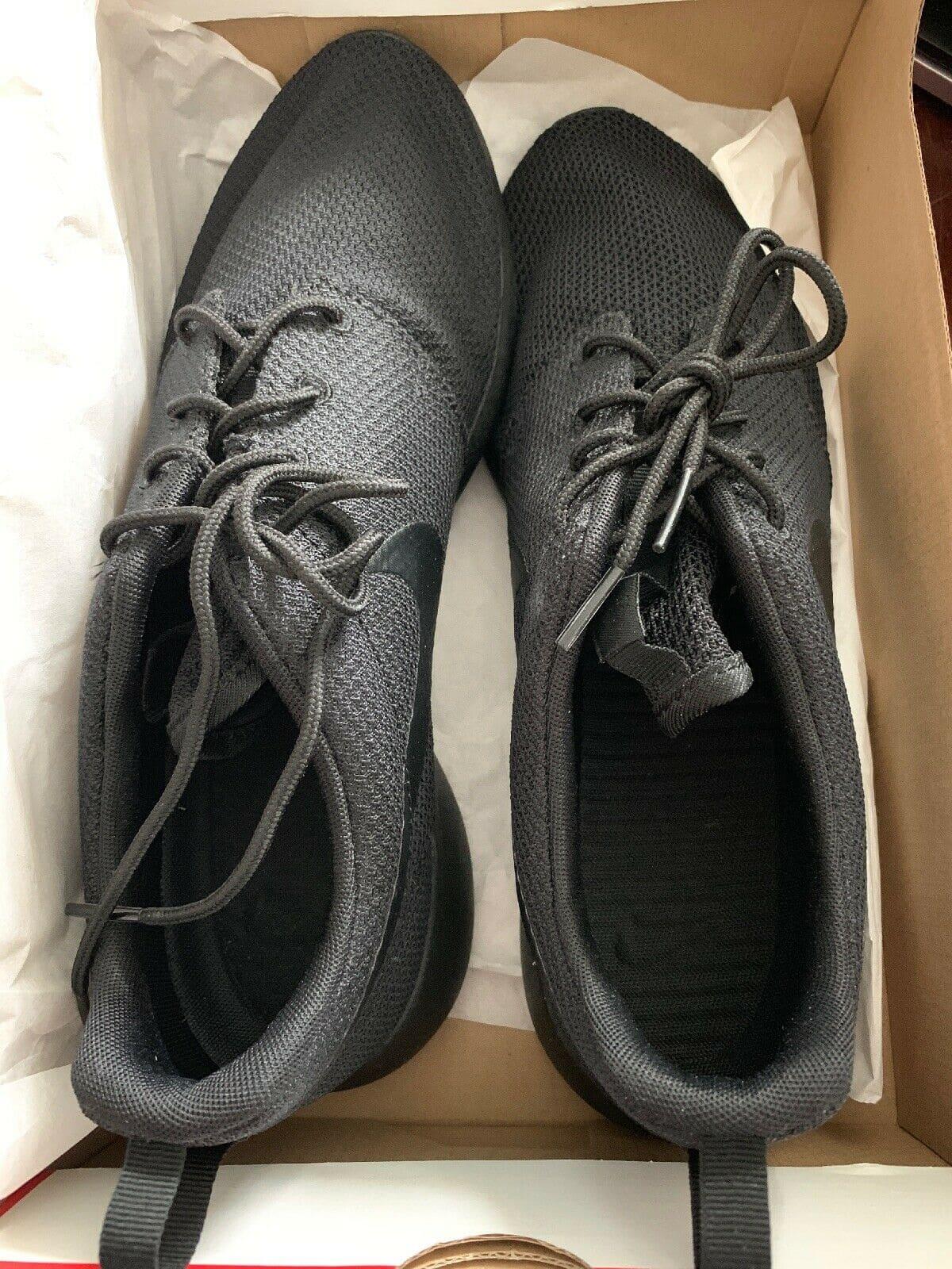 ! รองเท้า ไนกี้ โรเช่ วัน ทริปเปิ้ล แบล็ค สีดำล้วน ผู้ชาย / ผู้หญิง