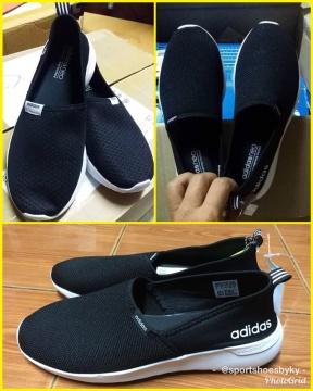 รองเท้า Adidas รุ่น Neo Cloudfoam Slip On มีกี่รุ่น สีใหม่มีมั้ย