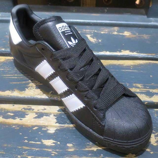 เช็ค ราคา ! อดิดาส ซุปเปอร์สตาร์ 80s Enlarged Stripes สีดำ
