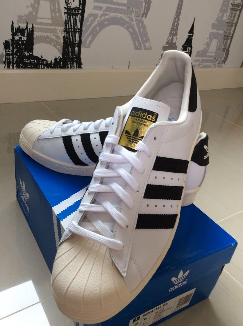 เช็ค ราคา ! Superstar 80S ขาว/ดำ