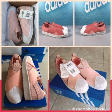 Adidas Superstar Slip On Pink สีชมพู รุ่นหายาก