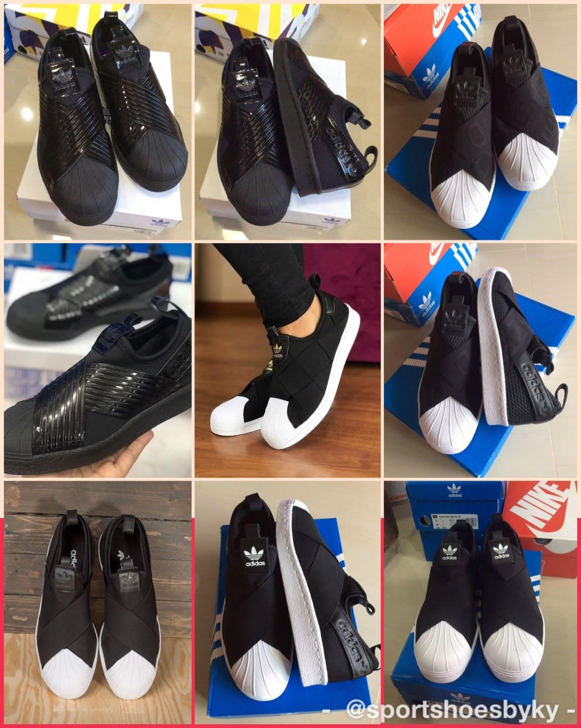 รีวิว Adidas Superstar Slip on Black สีดำ สุดฮิต มีแบบไหนบ้าง