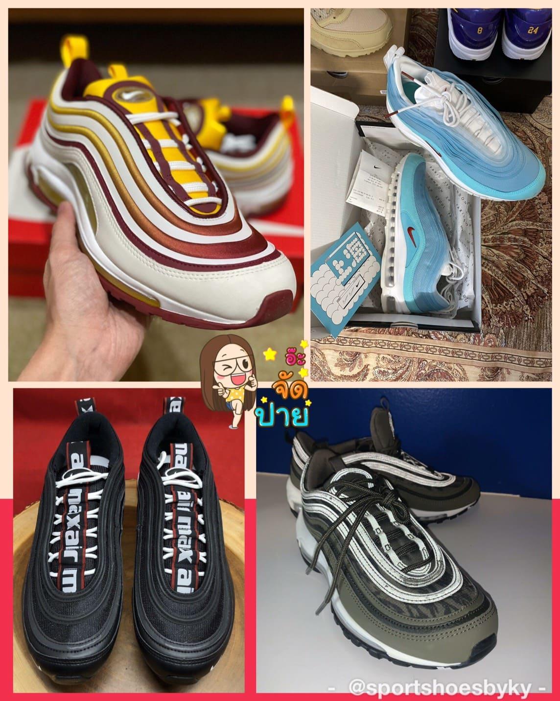 รองเท้า Nike Air Max 97 ผู้ชาย สีฮิต มีกี่สี