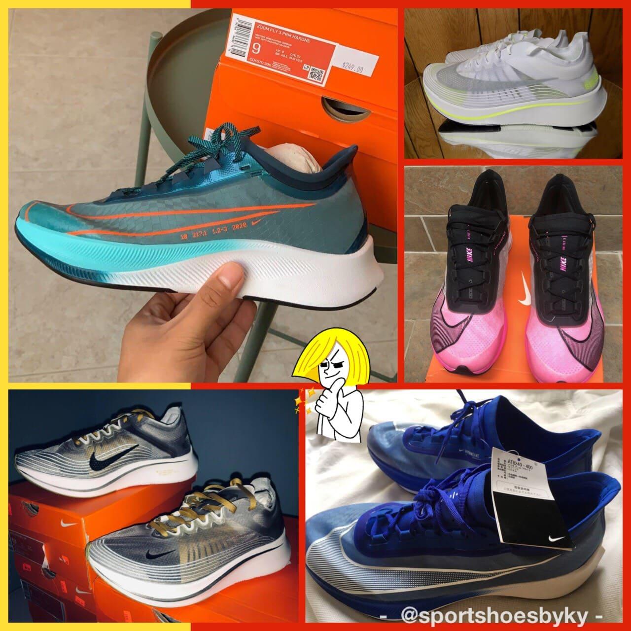 Nike Zoom Fly รุ่น ผู้ชาย