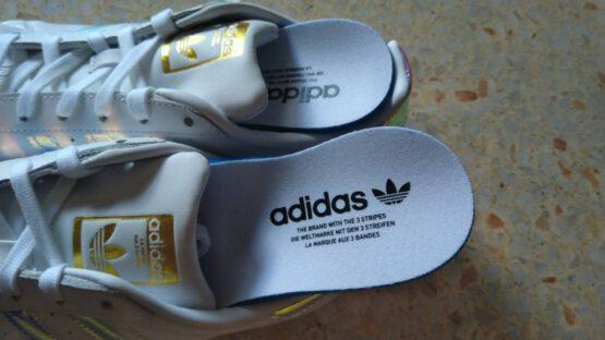 เจาะลึกแผ่นรองเท้า Superstar Adidas แท้ ดูยังไง